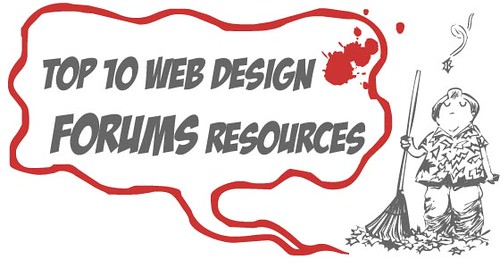 Top 10 Web Design Forums For Web Designers and Developers by honeytech