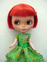 Pepper y su nuevo vestido