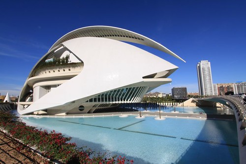 Valencia's City of Arts and Science. Stunning!