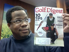 Golf Digest January 2010 cover