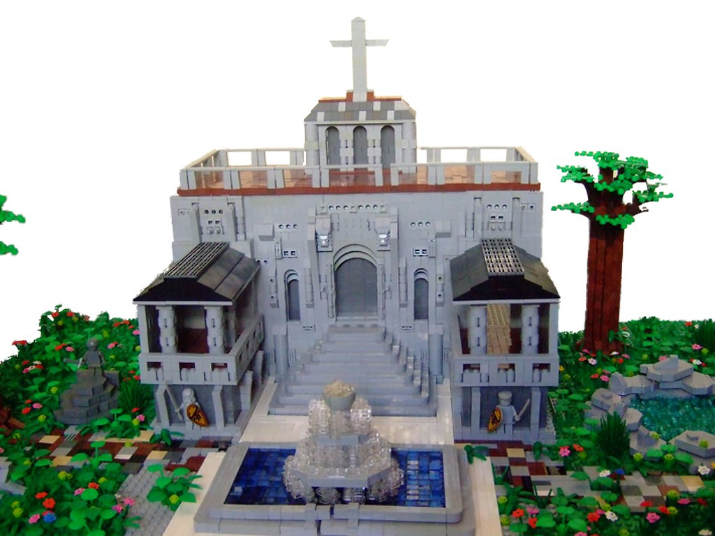 Temple For Worshipping Lego God.