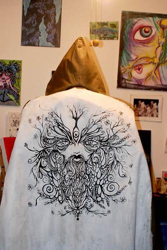 Wonder's Woodsman cloak