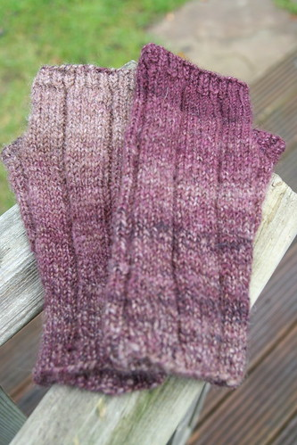 Handspun manly mitts