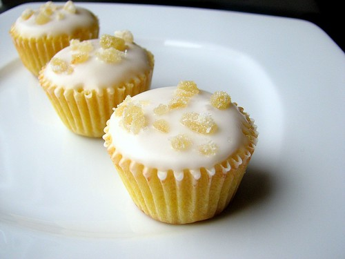 Ginger Lemon Tea Cakes