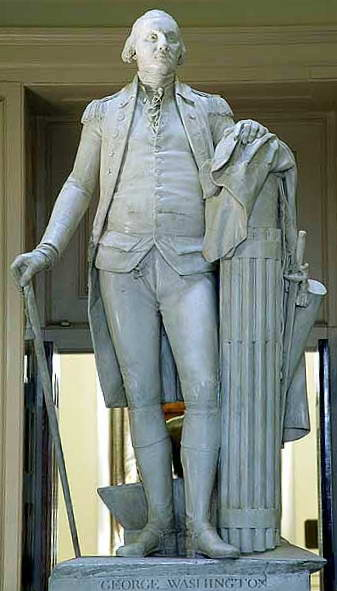 Jean-Antoine Houdon's George Washington