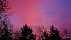 Sunset on the shortest day of the year!!! (Krittergirl) Tags: sunset clouds scenery skies wintersunsets