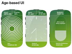 Age-based UI