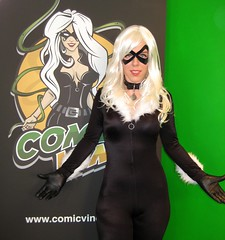 Black Cat at Comic Vine 3 (Roxanna Meta) Tags: blackcat comics costume comic cosplay marvel comicvine xcelsior