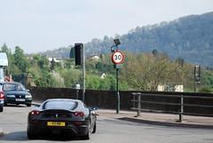 Ferrari 430 Scuderia (Matt-Hill) Tags: street england italy test black castle sport wales lens nikon track border ferrari monmouth carbon modena 18 55 panning scuderia supercar matte 43 maranello f430 430 rm fibre d60 fiorano