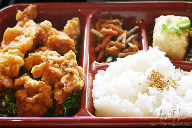 Chicken Karaage Bento Box, Daruma