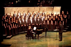 The Lakota West chorale choir group