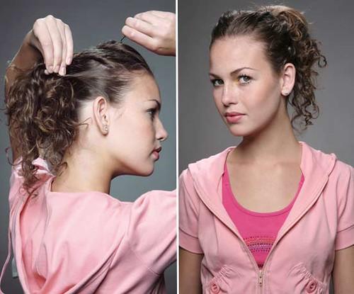 penteados para cabelos danificados