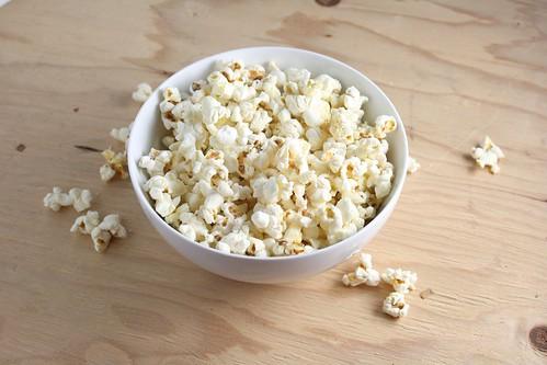Parmesan Truffle Popcorn
