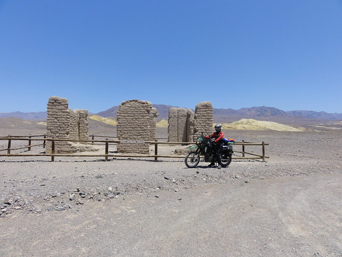 Old ruins in Death Valley