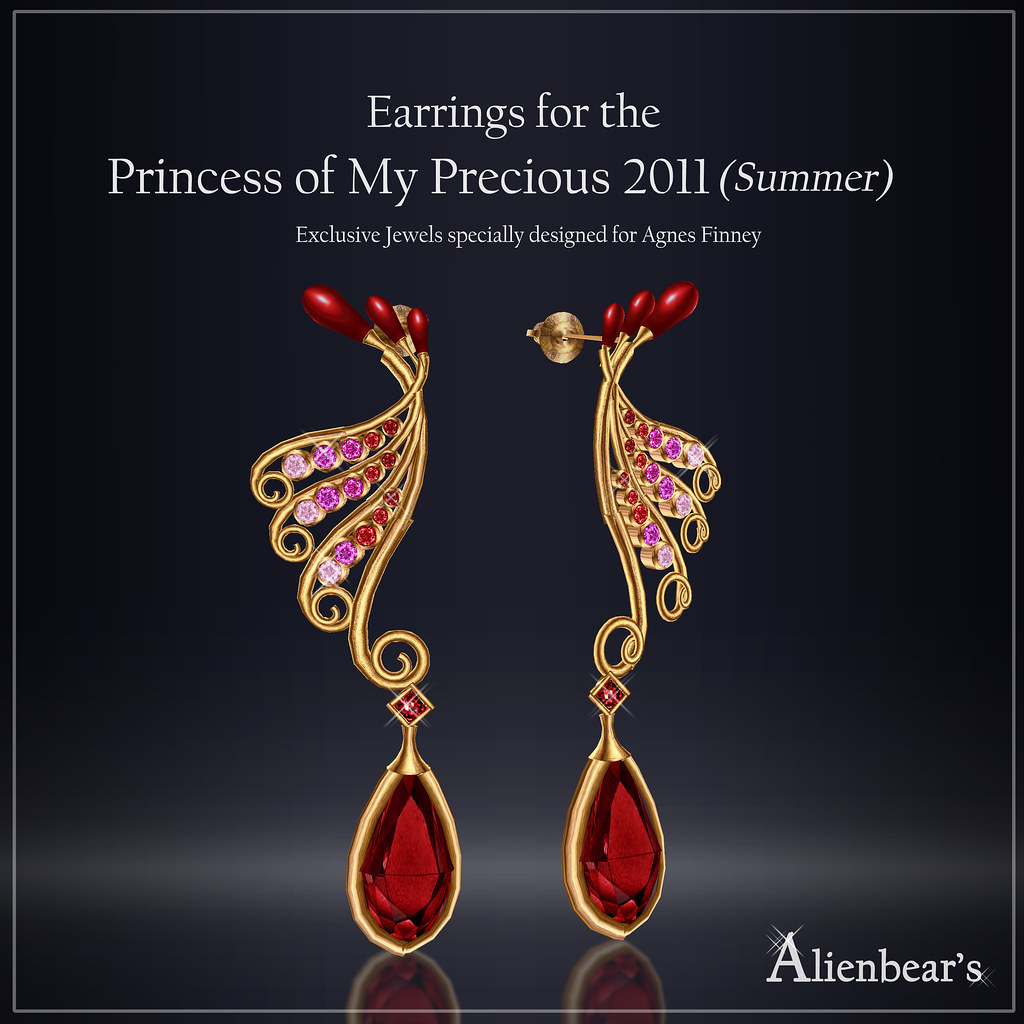 Earrings for Princess of My Precious 2011 Summer
