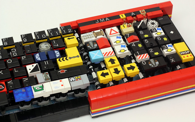 功能完整、可完整動作!LEGO 積木打造的鍵盤好讚啊!!!