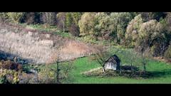 From the archive: November 2013. (elkarrde) Tags: nature landscape pentax pentaxk20d k20d pentaxart justpentax camera:model=k20d camera:brand=pentax camera:mount=kaf3 camera:format=apsc croatia location:country=croatia jastrebarskocounty lens:brand=pentax lens:format=apsc lens:mount=kaf2 lens:maxaperture=458 lens:focallength=55300mm lens:model=smcpentaxda145855300mmed smcpentaxda55300mm1458ed da55300 da55300458 55300 green forest house hut dilapidated abandoned valley