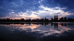 IMG_4362-4363 Central Park Sunset Composite (Dirk Darkroom) Tags: sunset newyork reflection centralpark manhattan fiatlux jacquelinekennedyonassisreservoir theunforgettablepictures bestofmywinners blinksuperstars