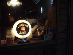Olympus E-P1 Test Photos at night (digitalbear) Tags: test rain japan night tokyo photos album olympus jacket rainy sample nakano michaeljackson ep1 thriller