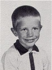 David Luebke, kindergarten pupil at St John Elementary School in Seward, Nebraska
