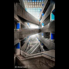 Many Paths (Ahmed-ID) Tags: light building art architecture path parking kuwait avenues canon1dsmarkiii ahmedsafer ahmedid
