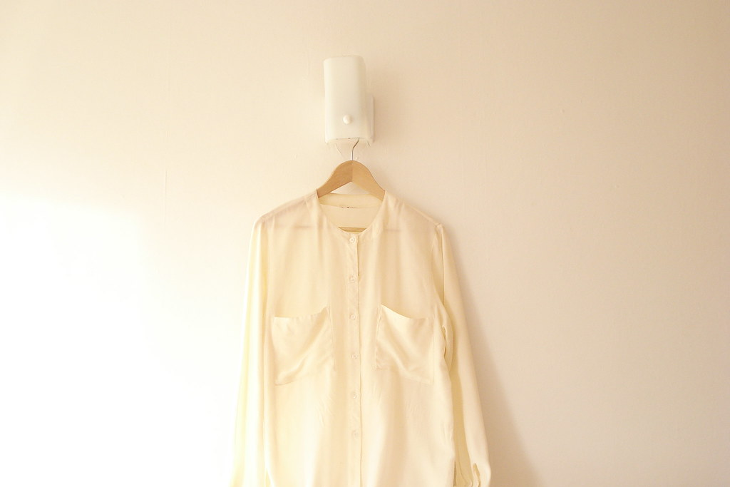 perfect silk shirt