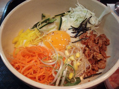 Pork bibimbap@Kimchee House GC