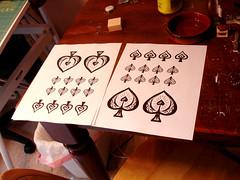 Steampunk Alice: Spade Designs