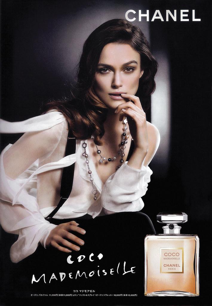 Keira Knightley perfume Chanel