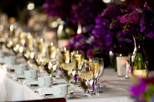 The head table at my wedding reception at Cantigny they set up everything