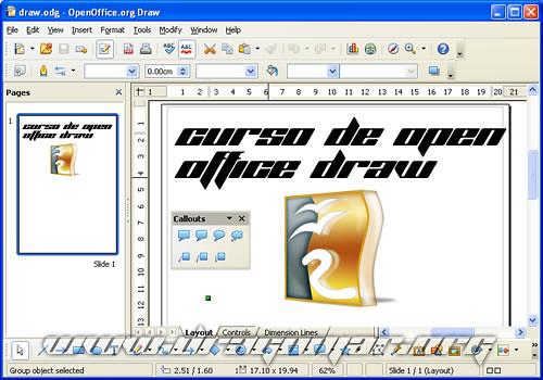 Curso de OpenOffice Draw