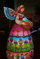 colorful angel (Eirreannach) Tags: flowers angel children interesting colorful patchwork
