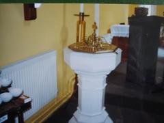 Baptismal font, Sean Ross Abbey (IrishMotherBabyHomes) Tags: ireland home us tipperary adoption motherbaby seanrossabbeyroscrea irishseanrossabbeyroscreatipperaryirelandmotherbabyhomeadoptionus