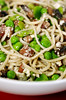 Tagliolini with Pancetta, Mushrooms, Peas and Ricotta© by Haalo