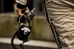Headset (paulusch) Tags: belgium belgi racing headset porsche pitstop circuit spa autosport pitlane francorchamps racen sigma70300mmf456apodgmacro canoneos400d 24hofspa