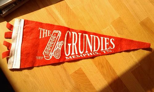 Grundies pennant