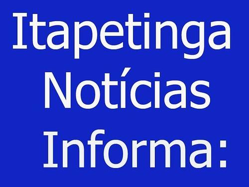 Brasão do Itapetinga Notícias.. por você.