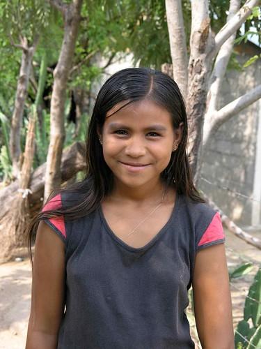 Muchacha bonita - pretty girl; Aldea El Calero, San Juan de Limay, Estelí, Nicaragua