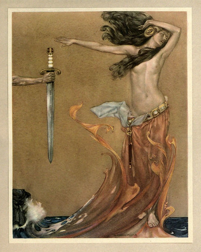 009 -Le morte Darthur 1921- William Russell Flint