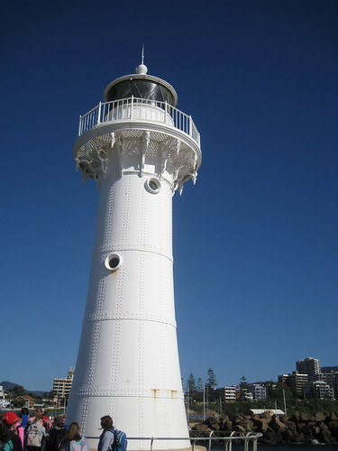 The first Wollongong Lighthouse