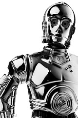 C-3PO (Avanaut) Tags: toys toy theotherside starwars wars star seethreepio robot protocoldroid portrait miniature metal man macrotoys macro humancyborgrelations hasbro golden gold figure face eye droid detail closeup c3po bw blackandwhite armor actionfigure action 60mm