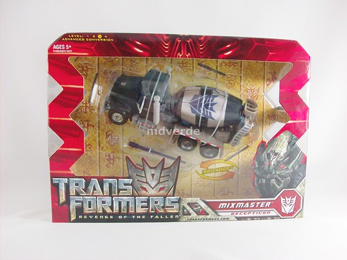 Transformers Mixmaster Voyager RotF - caja