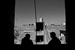 Shatilla III (Alex Worren) Tags: blackandwhite bw lebanon silhouette palestine refugee beirut shatilla