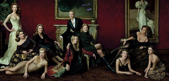 "MASTER CLASS"" Nicole Kidman, Catherine Deneuve, Meryl Streep, Gwyneth Paltrow, Cate Blanchett, Kate Winslet, Vanessa Redgrave, Chloe Sevigny, Sophia Loren, and Penelope Cruz by Loz:::LOZZYphotos"