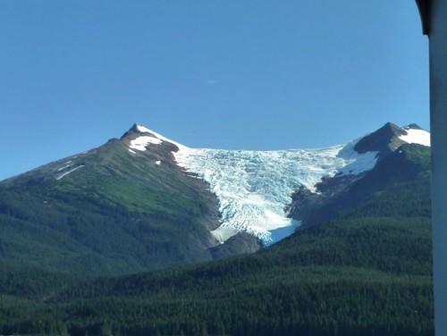 Ice on the mountain