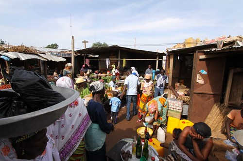 Tamale main market...