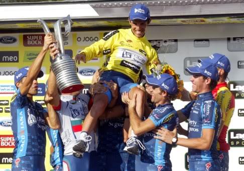vencedor da volta a portugal 2009, por: desportugal.blogspot.com