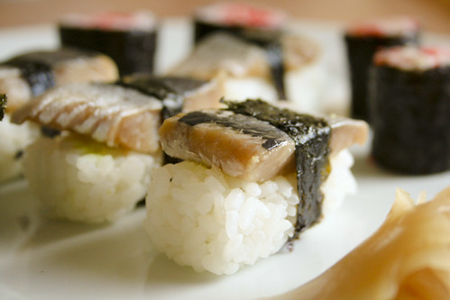 Sushi nach mediterraner Art