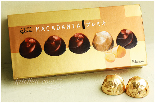 Glico Macadamia Chocolate