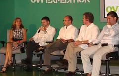 Panel de Nokia con desarrolladores